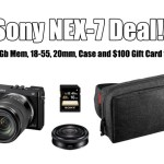 Sony NEX-7 Mega Package Deal Alert! SAVE $650!