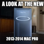 A look at the new Apple Mac Pro 2013/2014!