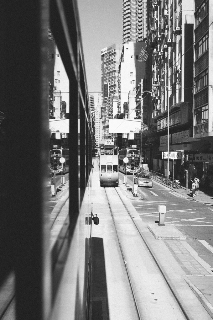 City life trams