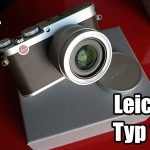 A quick 1st look video on the Leica X Typ 113!