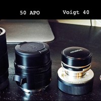 Crazy Comparison! Leica 50 APO, Sony Zeiss 55, Voigtlander 40 2.8