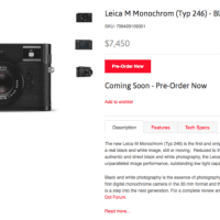 "The New Leica M Typ 246..or ""The New Monochrom"""