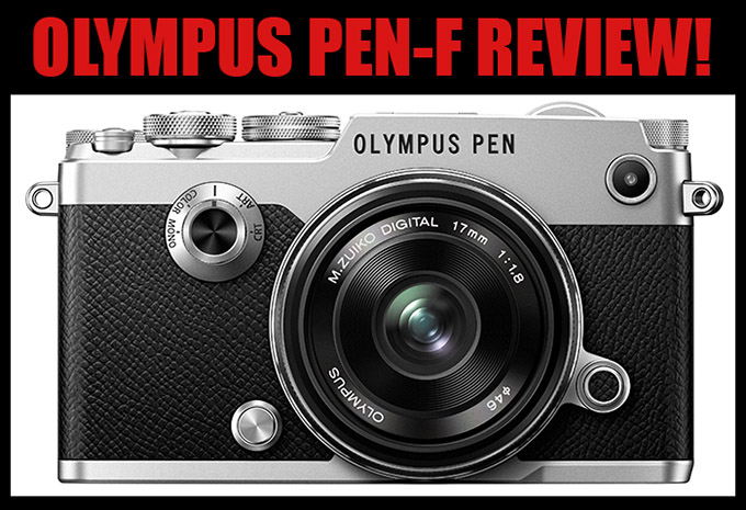 The NEW Olympus PEN-F Camera Review. Just. Wow.