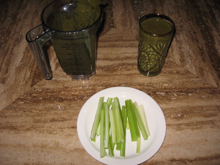 Raw food diet day 11 breakfast