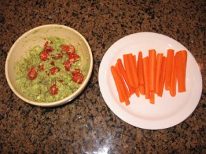 Raw food diet day 12 lunch
