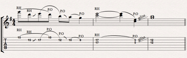 PEDAL STEEL COUNTRY GUITAR LICK 16