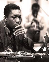 Coltrane and Miles Davis