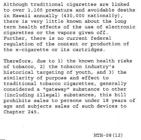 e-cigarette news screen shot