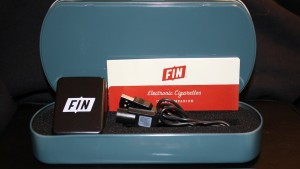 Fin e-cig starter kit tin box image