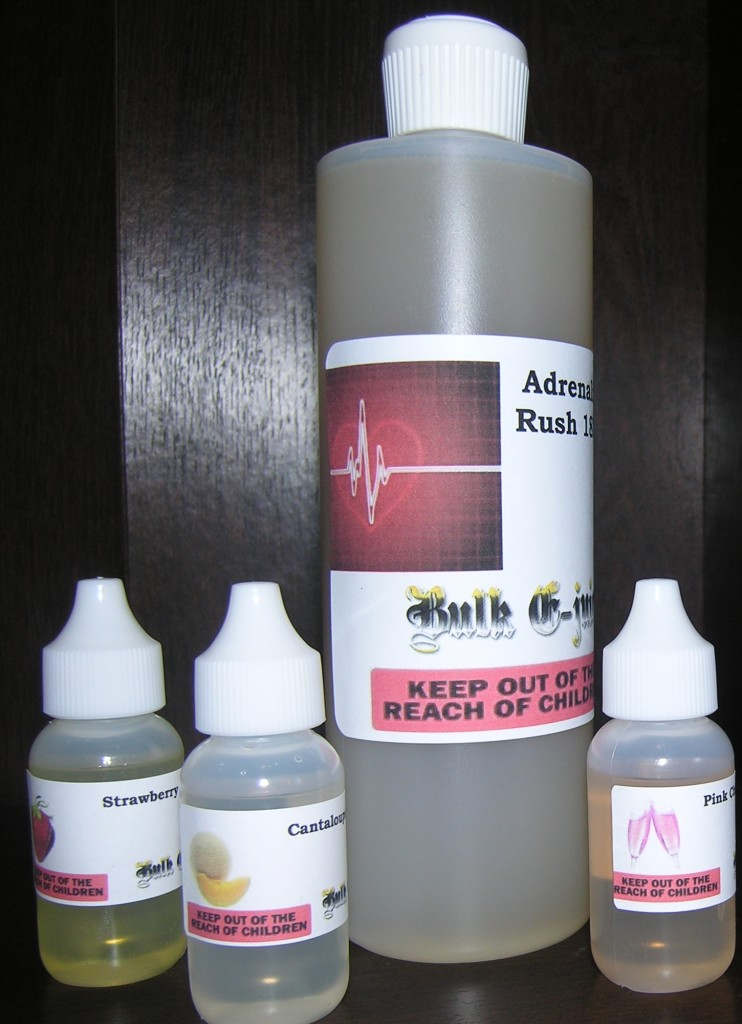 Picture of bulk e juice bottle
