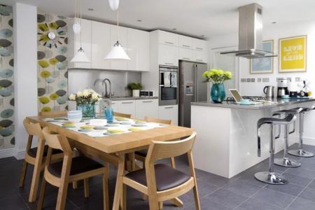 29 contemporary open plan dining room ideas26