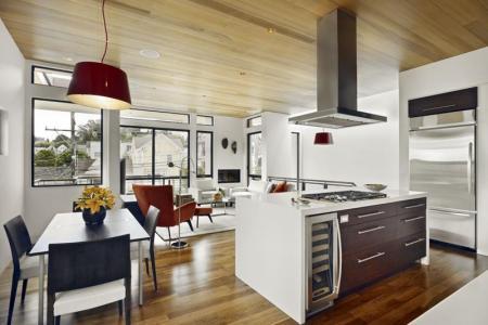 29 contemporary open plan dining room ideas7