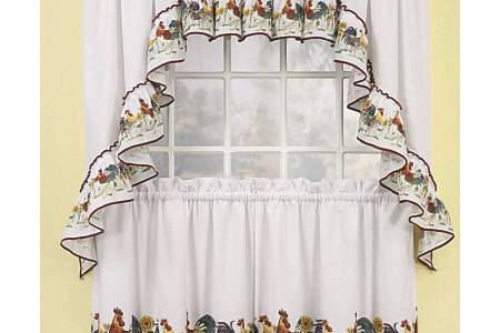 rooster kitchen curtains 11