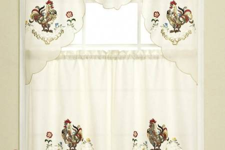 rooster kitchen curtains 16