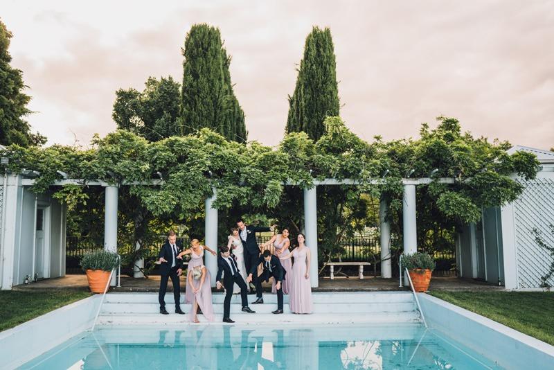 COOMBE YARRA VALLEY MELBA ESTATE WEDDING