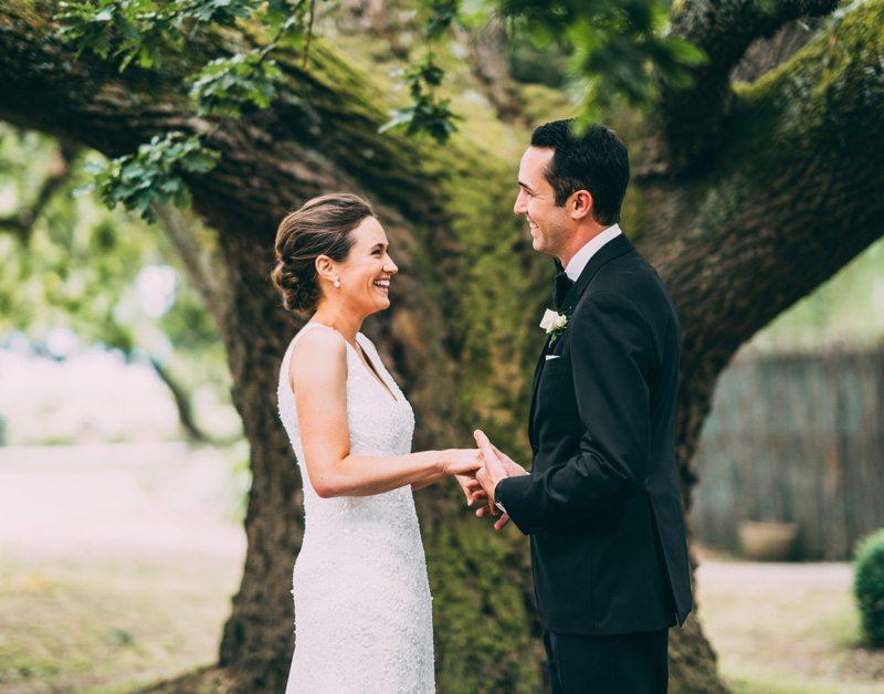 oak tree wedding ceremony coombe yarra valley