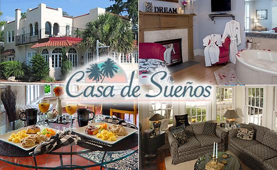 Photo collage of Cas de Suenos
