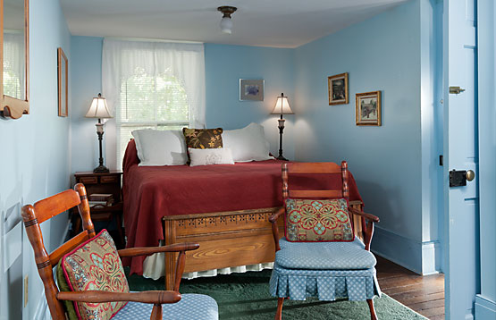 One of two Cottage Bedrooms, this one with queen bed