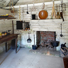 interior of the Oldest House museum
