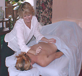 have a massage in your room