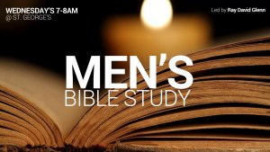 Men's Bible Study @ St. George's Anglican Church, Burlington | Burlington | Ontario | Canada