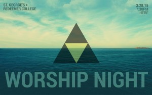 Worship Night: Redeemer + St. George's @ St. George's Anglican Church, Burlington | Burlington | Ontario | Canada