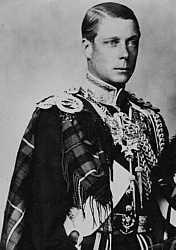 Edward, The Prince of Wales, St Helena Island