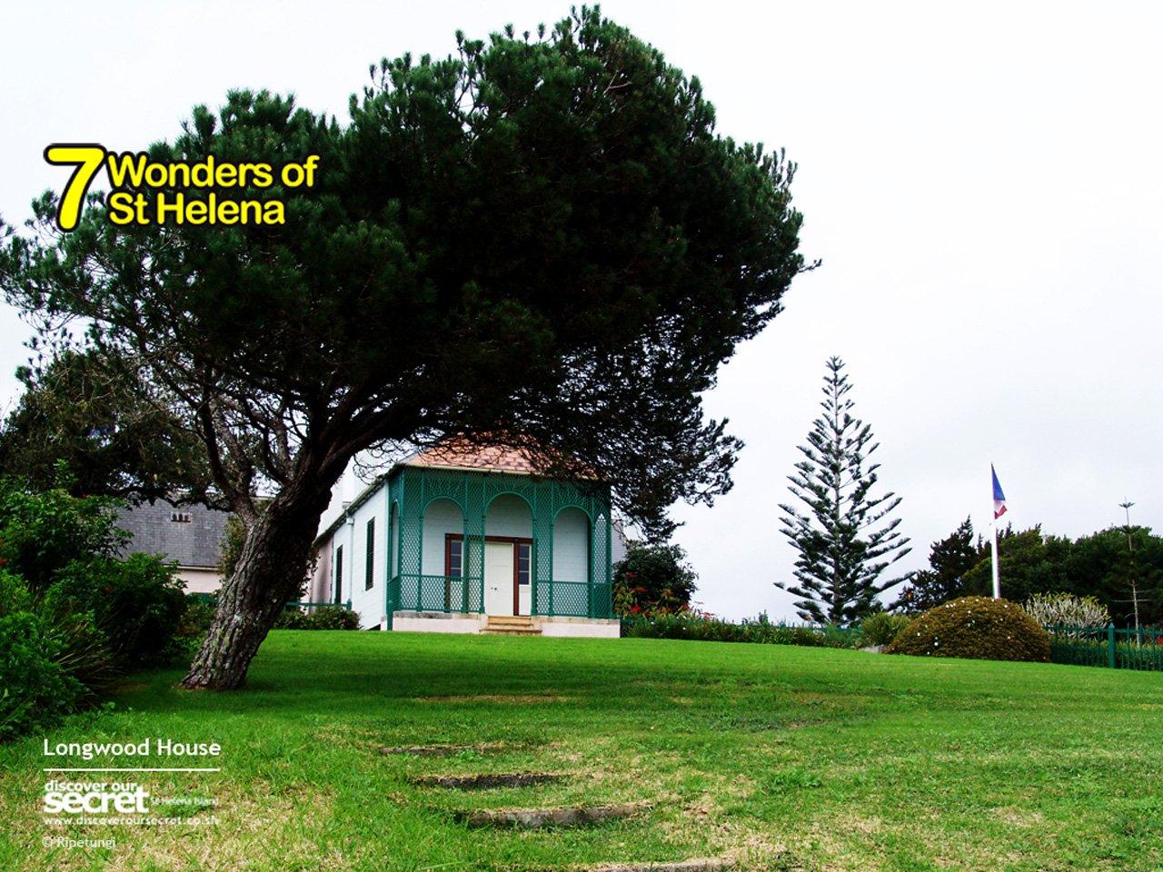 7 wonders of st helena st helena island for Longwood house