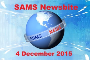SAMS St Helena News Report . 4 Dec 2015