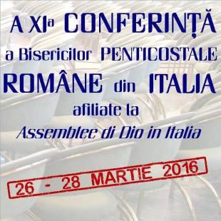 A 11-a Conferință a Bisericilor Penticostale Române Adi-Mer din Italia