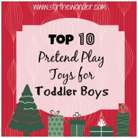 Top 10 Pretend Play Toys for Toddler Boys