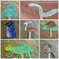 'Play with Me' Puppet Craft