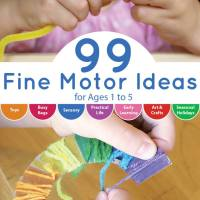 Introducing 99 Fine Motor Ideas the Book