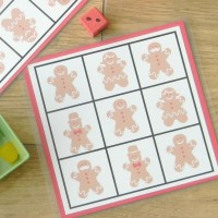 Gingerbread & Gumdrops Grid Game