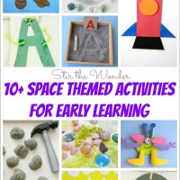 10+ Space Themed Activities for Early Learning