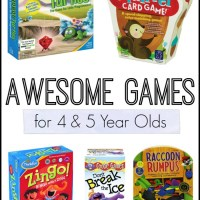 Awesome Games for 4 and 5 Year Olds