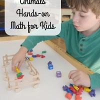 Playful Farm Animals Hands-on Math for Kids