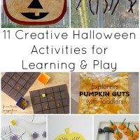 11 Creative Halloween Activities For Learning & Play