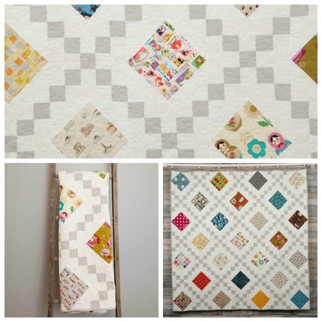 """My Favorite Things""- the pattern for this quilt is available in my new Craftsy class- Twisted Irish Chain"