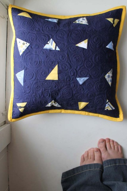 Night Sky Pillow 4