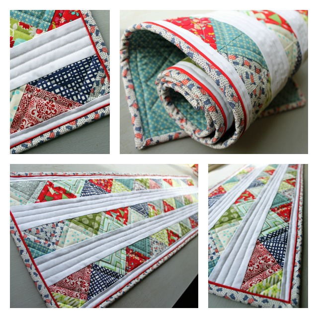 Triangle Table Runner Holiday Swap Gift