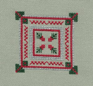 OrnamentClub1CrossStitchedbyPam