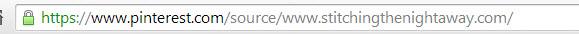 pinterest source checking url