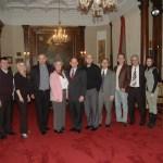 The Bosnian community representatives with mayor Slay