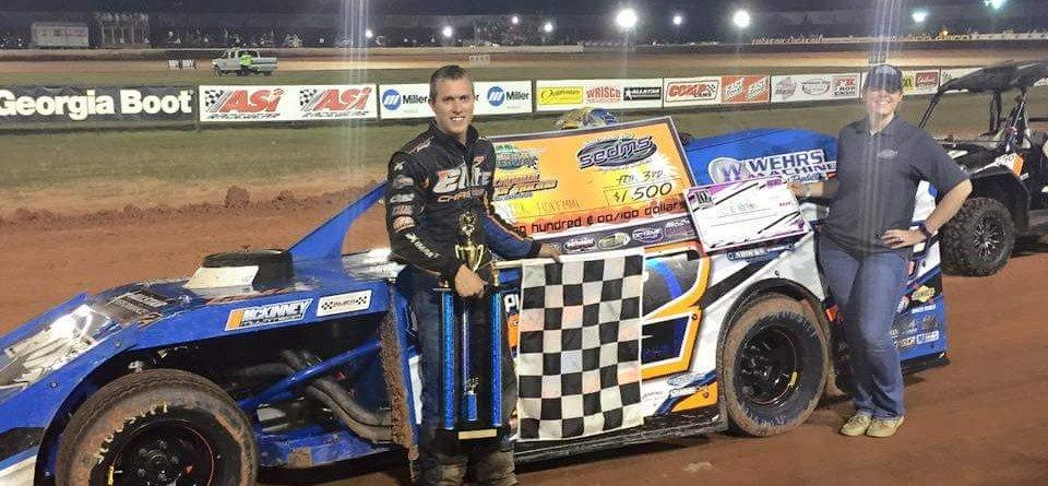 Nick Hoffman Out Duels Kyle Strickler For $2K Non-Points Win at Golden Isles Speedway!