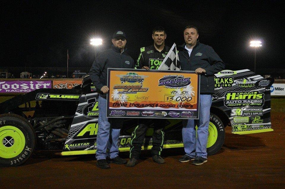 Strickler Dazzles To First Points Race & $3,000 Win At Golden Isles