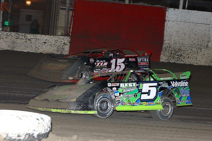 Mike Ruefer's photos from East Bay Raceway Park's Lucas Oil Late Models Winternationals