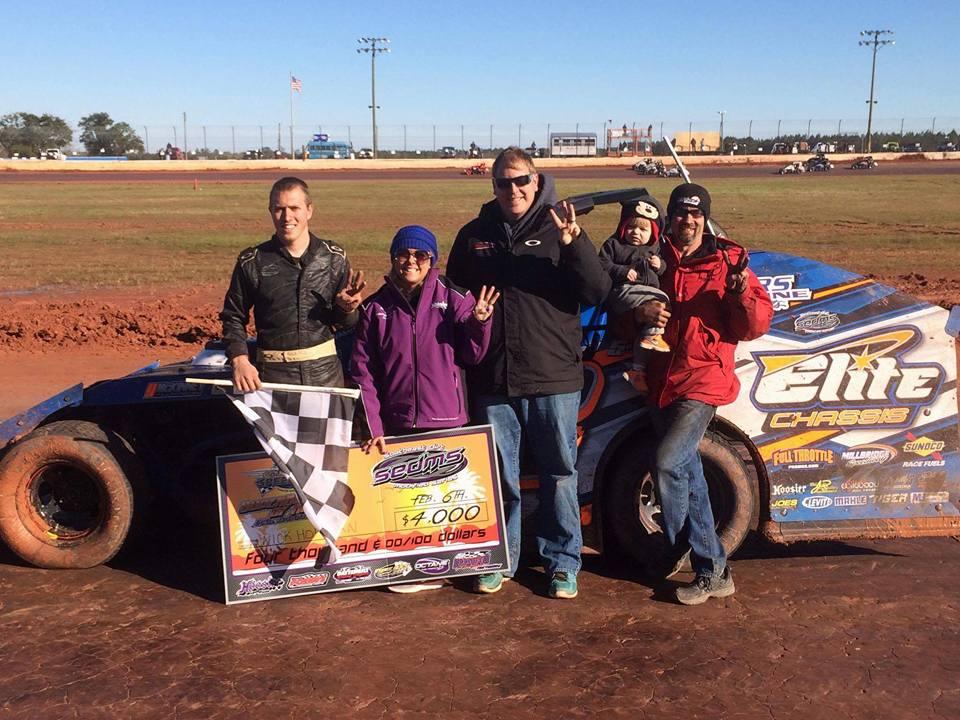 Nick Hoffman wins Golden Isles Speedway finale!