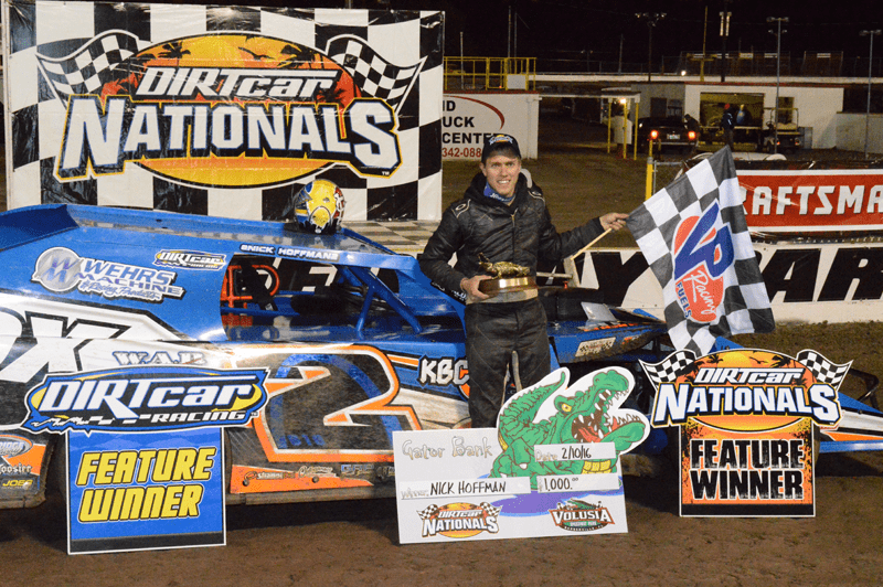 Nick Hoffman wins two in a row with DIRTcar UMP Modifieds