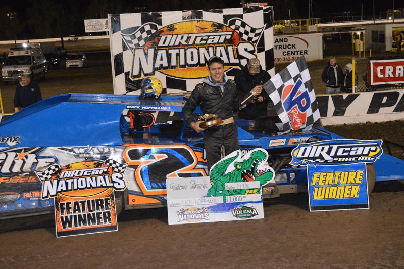 Nick Hoffman Wins DIRTcar Nationals Night One